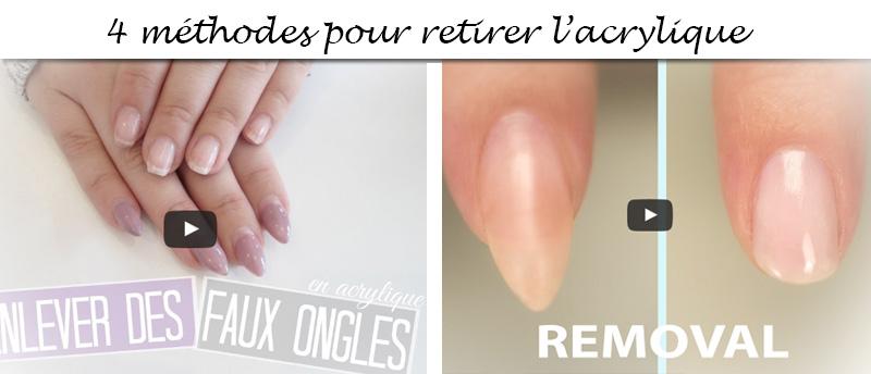 Comment Retirer Lacrylique Sans Abimer Les Ongles