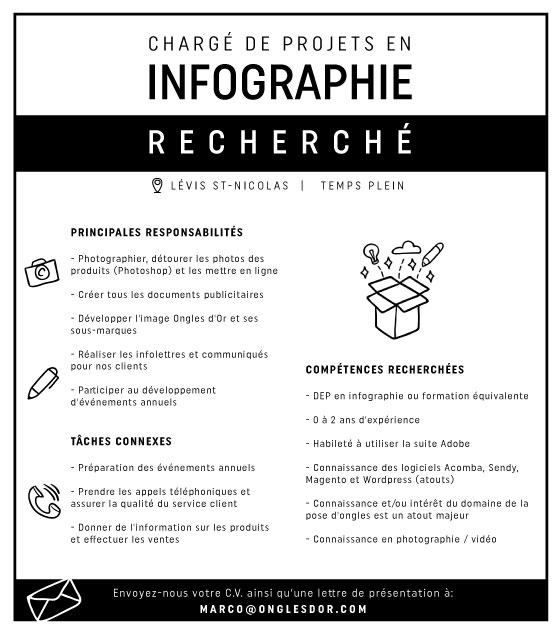 infographiste ongles d or