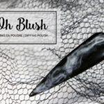 Oh Blush nails effet de fumée