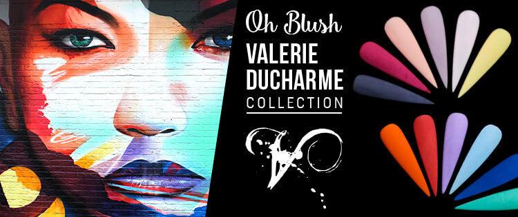 vernis poudre Oh Blush Valerie Ducharme