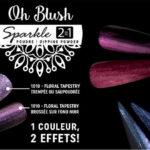 poudre oh blush sparkle paillettes