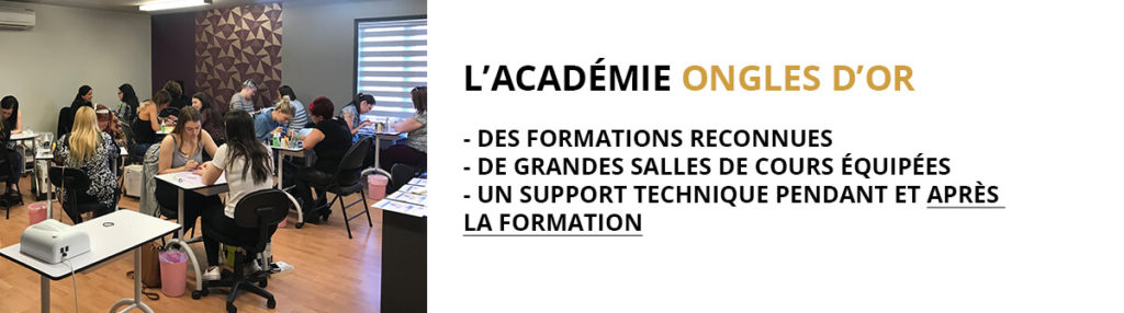 formations Ongles d'Or