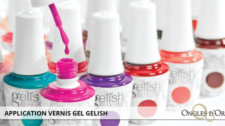 application gelish gel polish