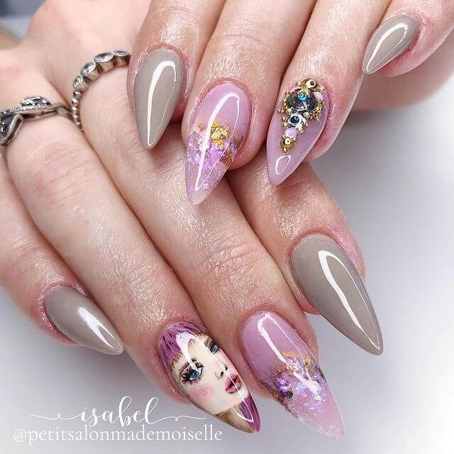 Oh Blush Rose gris Petit Salon Mademoiselle