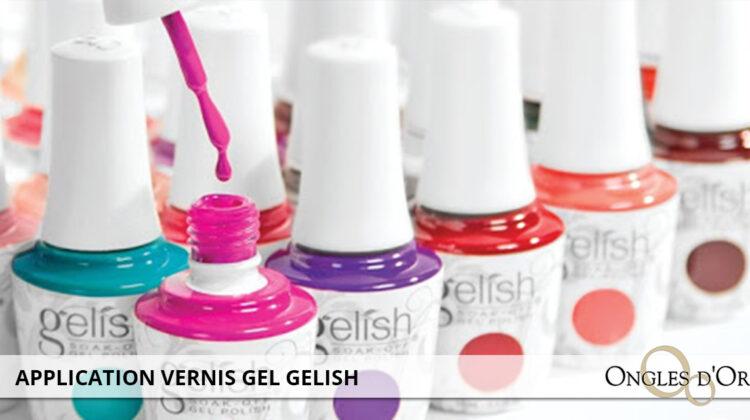 gelish gel polish application
