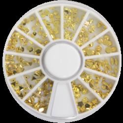 Decorative Metallic Stones - Gold