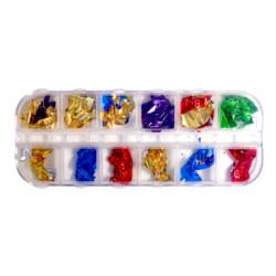 Decorative Colorful Foil Flakes