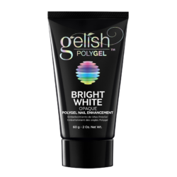 Gelish PolyGel Nail Enhancement Bright White Opaque