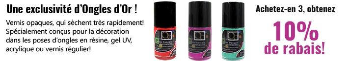 Vernis pour Pose d'ongles