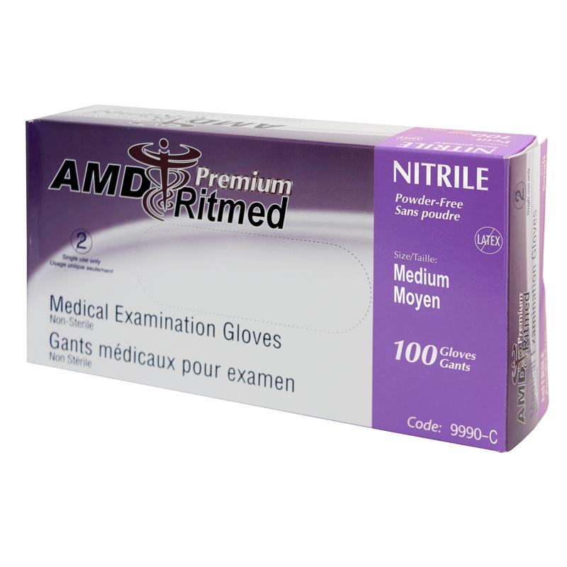 Gant Nitrile AMD Ritmed extensible Mauve (100) Medium