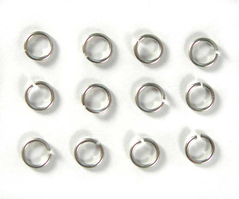 Silver Rings (12 pcs)