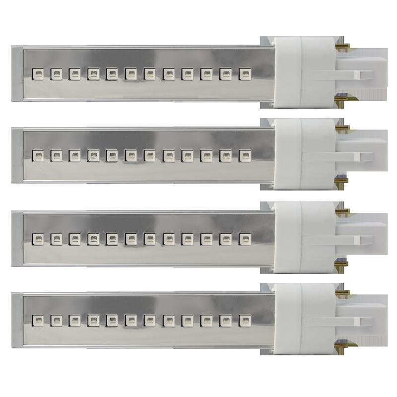 Ampoule LED 6 Watts pour Lampe UV Régulière (4 unités)