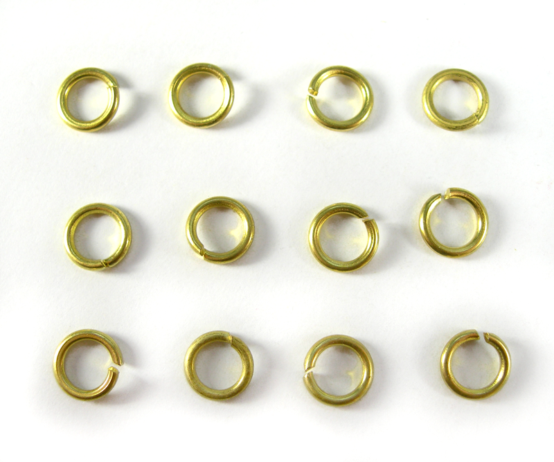 Gold Rings (12 pcs) (AA12)