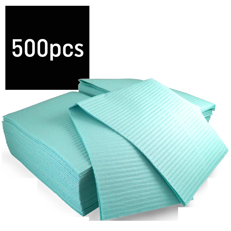 Bavette plastifiée (Gibson) paquet 500 Hedy (Bleu)