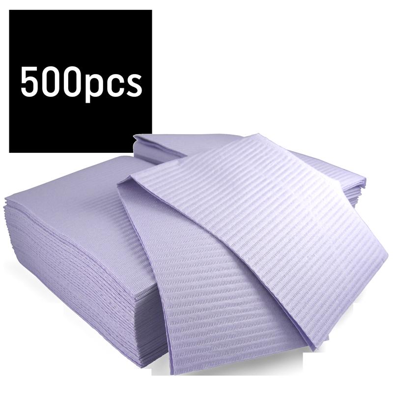 Lavender Hedy Dental Bibs (Gibson) 500 pcs