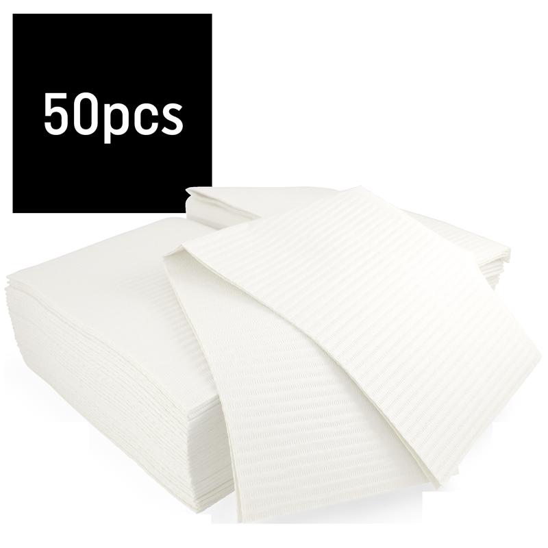 Bavette plastifiée (Gibson) paquet 50 Hedy (Blanc)