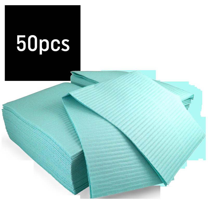 Bavette plastifiée (Gibson) paquet 50 Hedy (Bleu)