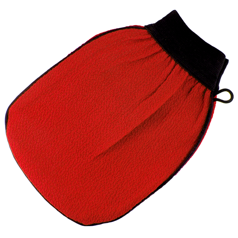 Best Kiss Gant Exfoliant Rouge (1 Gant)