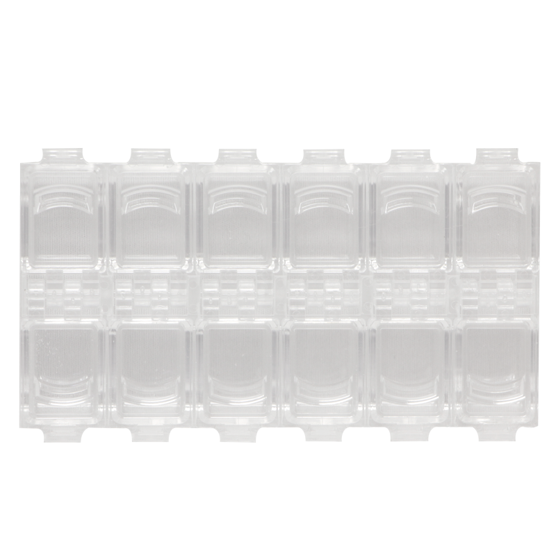 Boitier Vide en Acrylique Clair (12 compartiments)