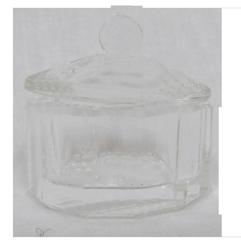 Contenant Cristal pour Poudre Hexagone (diam int 30mm)