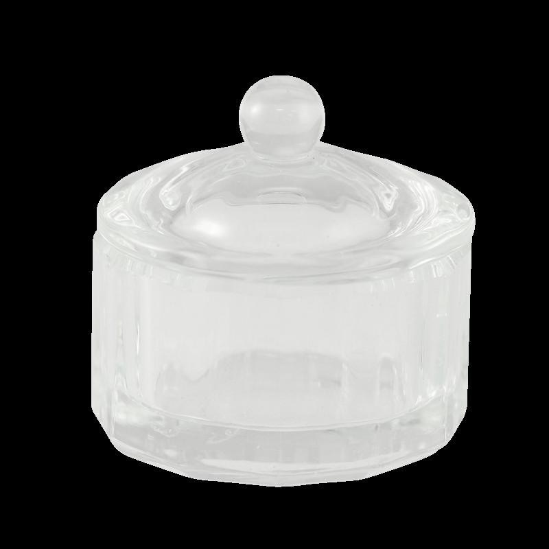 Contenant Cristal pour Poudre Rond Carrousel (diam 30mm)