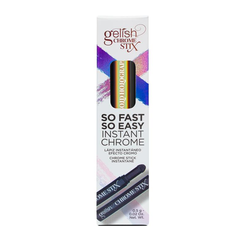 Gelish Chrome Stix Crayon à Effet Chrome Or Holo. 5g
