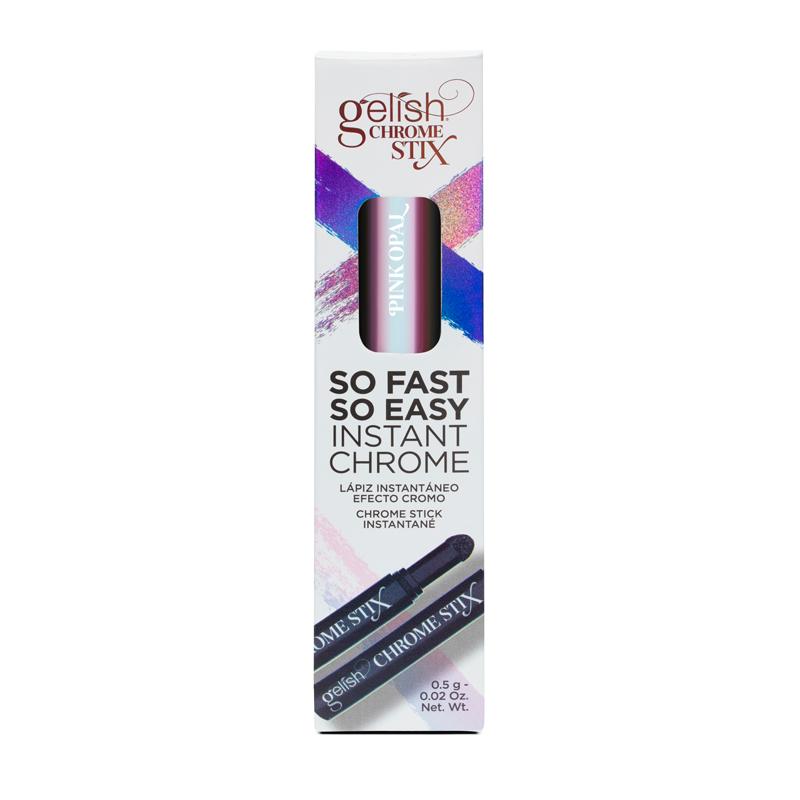 Gelish Chrome Stix Crayon à Effet Chrome Pink Opal 5g