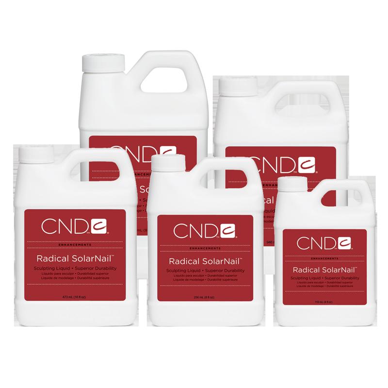 CND Radical SolarNail Liquide de Modelage