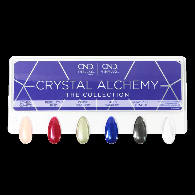 CND Crystal Alchemy Nail Tip Chart