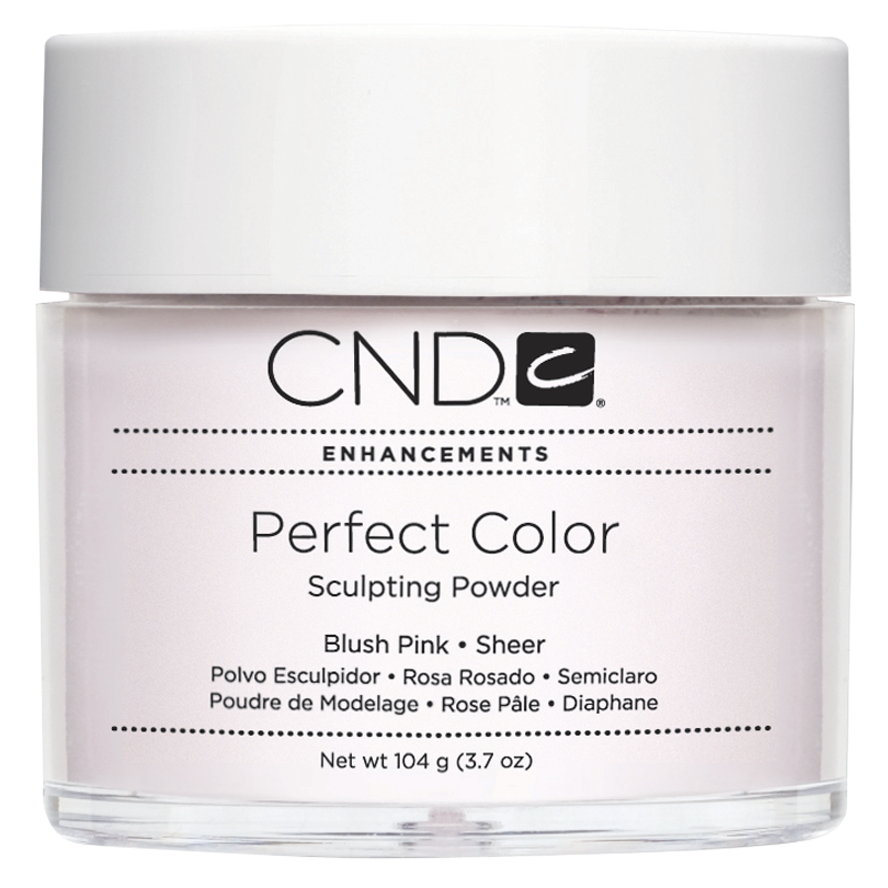 CND PC POWDER BLUSH PINK SHEER 3.7oz