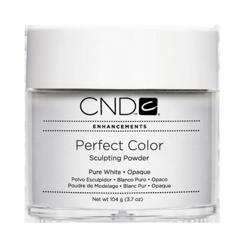 CND PC Poudre PURE WHITE Opaque 3.7oz