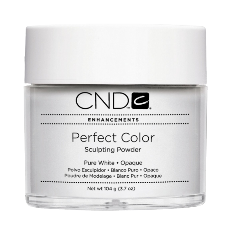 CND PC POWDER PURE WHITE Opaque 3.7oz