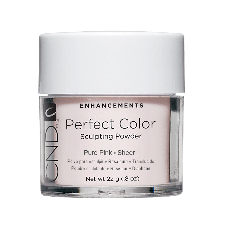 CND PC POWDER PURE PINK SHEER .8oz