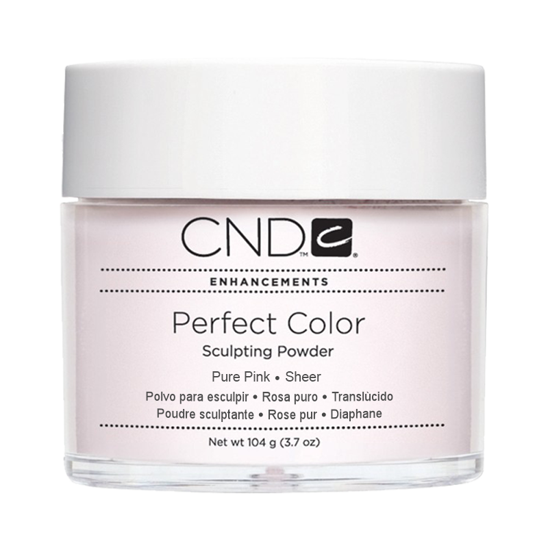 CND PC POWDER PURE PINK SHEER 3.7oz