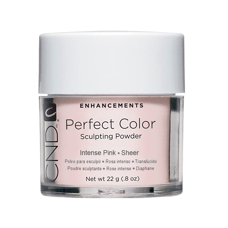 CND PC POWDER INTENSE PINK SHEER .8oz