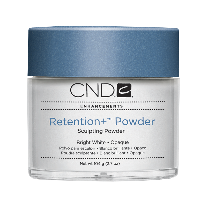 CND Retention+ Powder Bright White Opaque 3.7oz