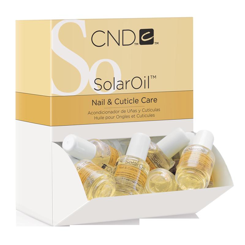 CND Solar Oil Huile pour Ongles et Cuticules 3.7mL (boite de 40)