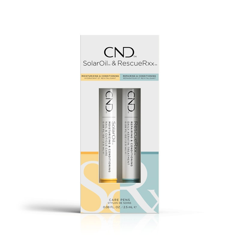CND Essentials Duo Care Pens (Solaroil + Rescue Rxx)