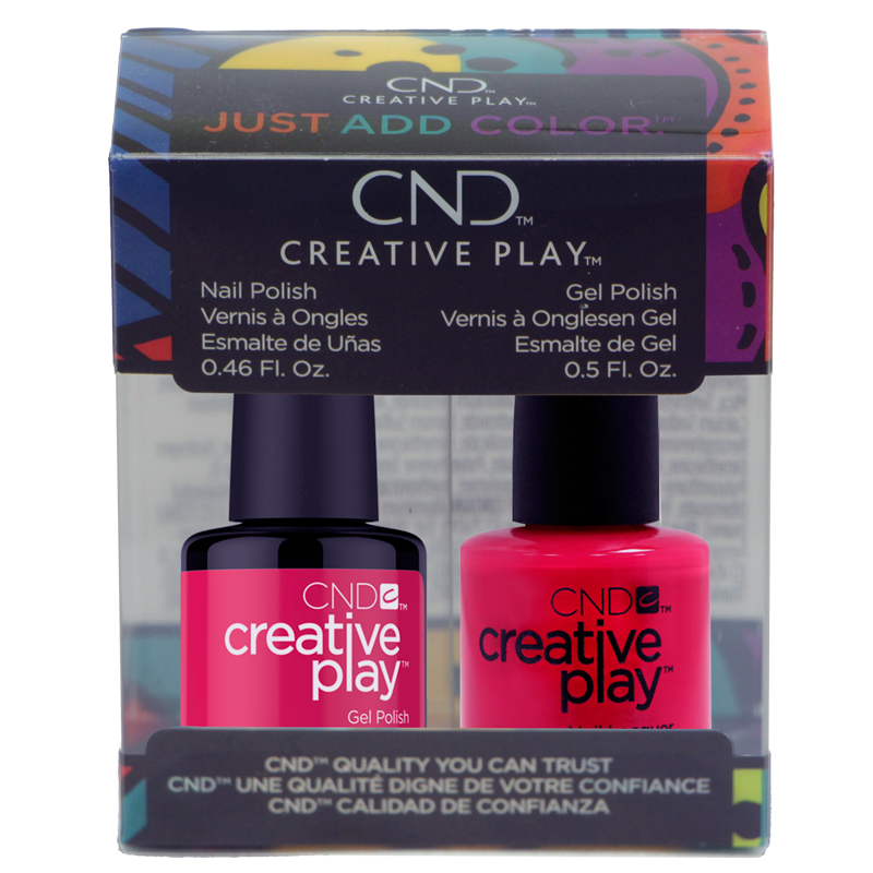 CND Creative Play Polish Duo #411 Well Red