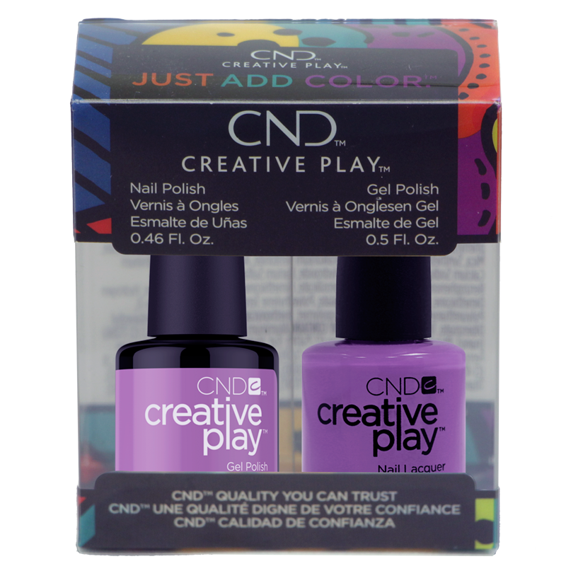 CND Creative Play Polish Duo #443 A Lilacy Story