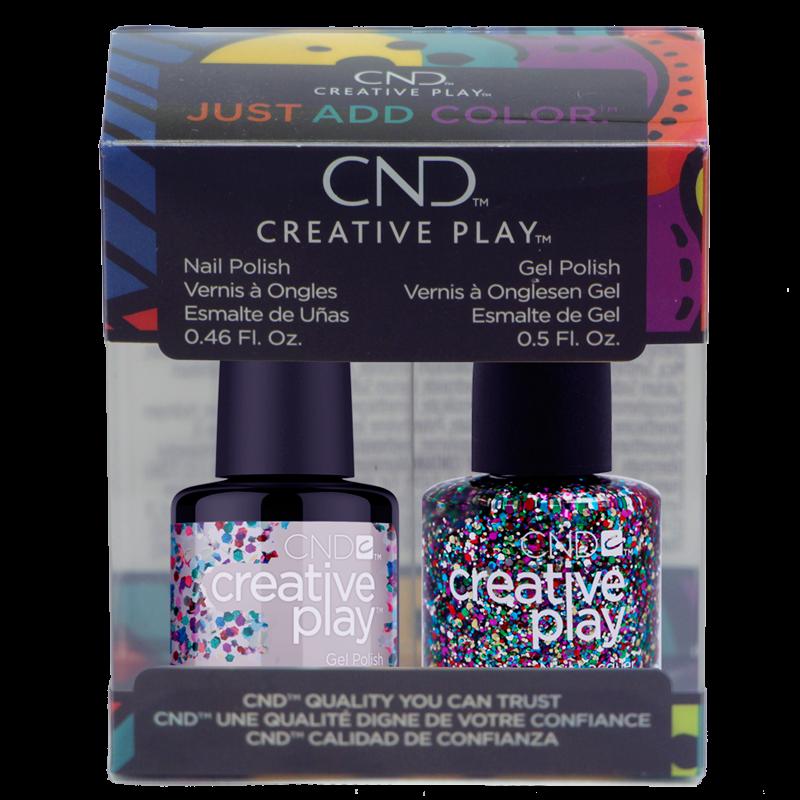 CND Creative Play Polish Duo #449 Glittabulous