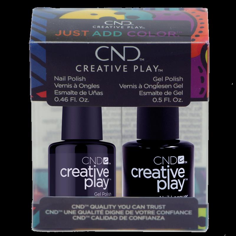 CND Creative Play Polish Duo #451 Black Forth