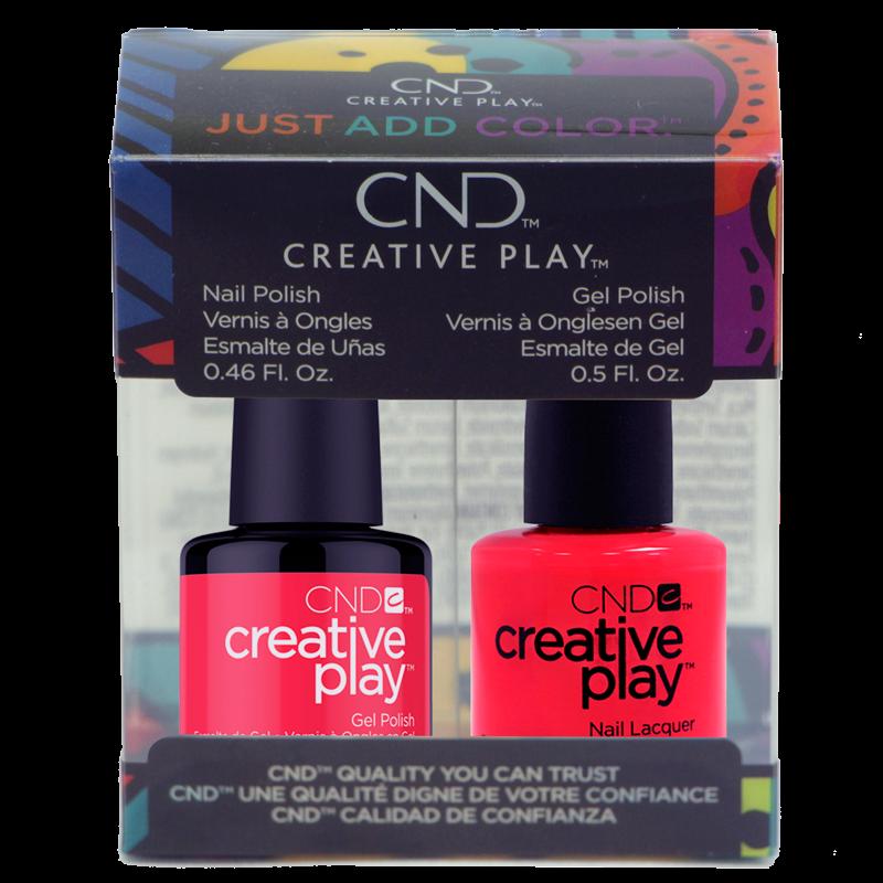 CND Creative Play Polish Duo #453 Hottie Tomattie