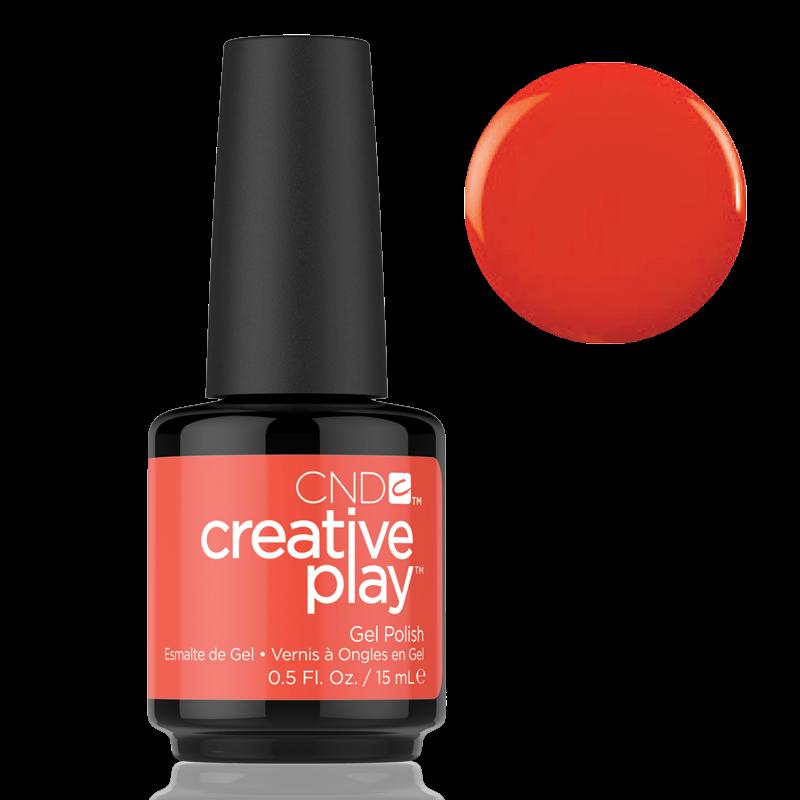 CND Creative Play Gel Polish #499 Tangerine Rush 0.5oz