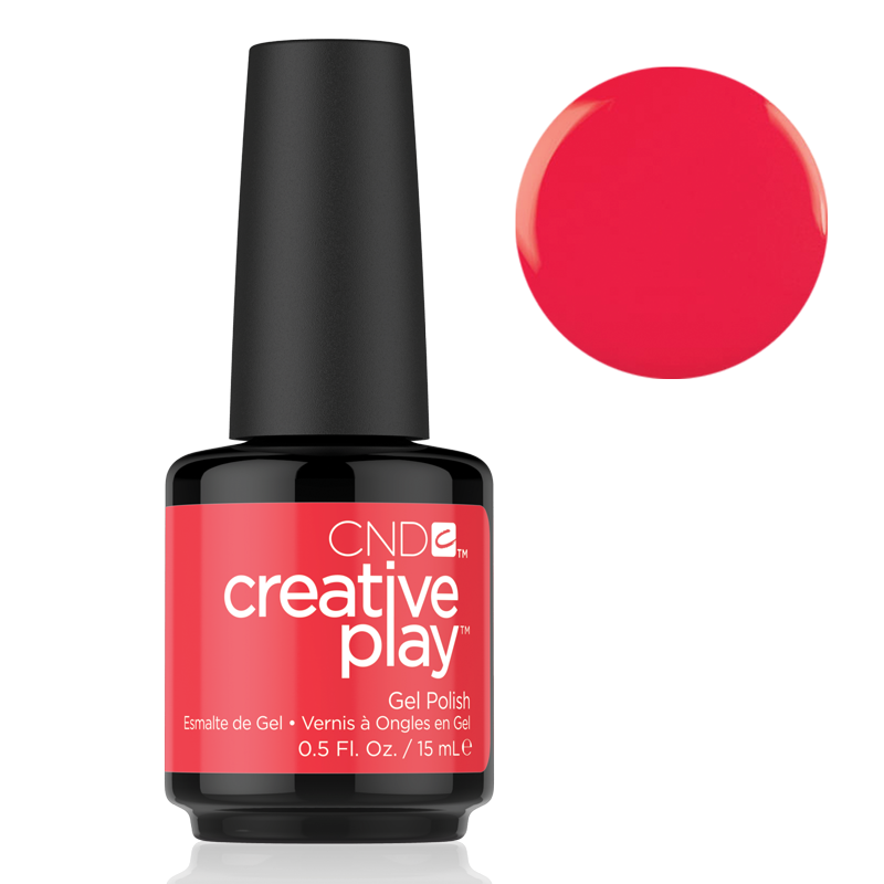 CND Creative Play Gel Polish #453 Hottie Tomattie 0.5oz