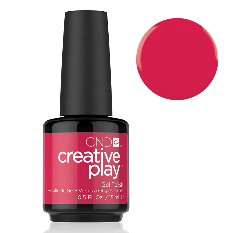 CND Creative Play Gel Polish #411 Well Red 0.5oz