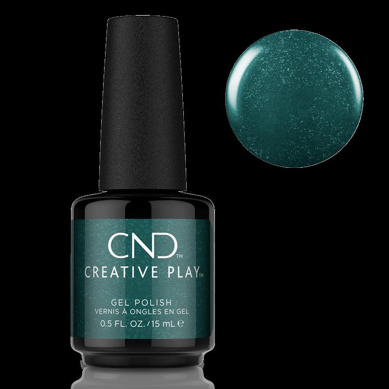 CND Creative Play Gel Polish #533 Envied Green 0.5oz