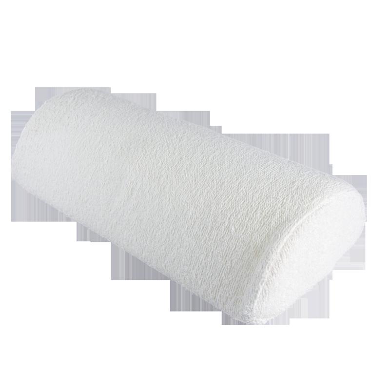 Coussin de Travail Coussiné Blanc Neige avec Fermeture Éclair
