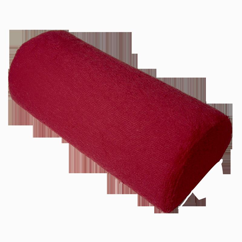 Coussin de Travail Coussiné Rouge avec Fermeture Éclair