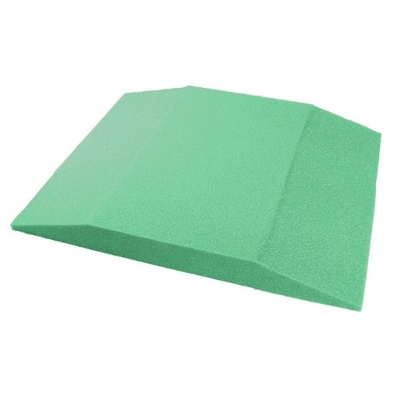 Coussin de Travail en Foam Vert
